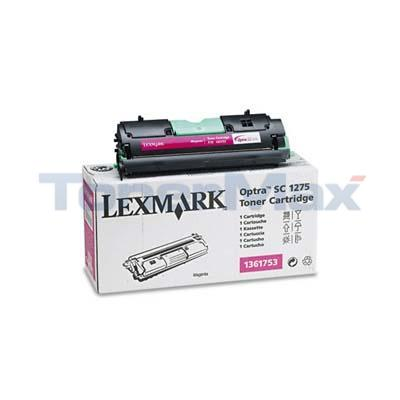 LEXMARK OPTRA SC 1275 TONER MAGENTA